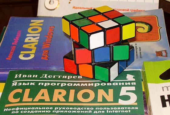 Впервые, я увидел кубик Рубика